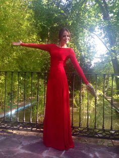 Eva Gonzalez, lady in red II