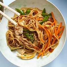 Classic Sesame Noodles with Chicken - EatingWell.com