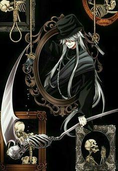 Undertaker, Grim Reaper, cool, scythe, pictures, photos; Black Butler