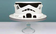 Stormtrooper cake is the best wedding cake /// convert-to-3d.com