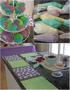 pre-teen party ideas, this would keep the girls busy for a while...