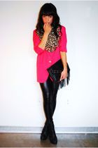 burlington coat factory boots - Google Search. Pink,leapord,leather leggings!