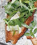 Alain Ducasse's Herb Tartines - 7 Make-Ahead Appetizers from Celebrity Chefs - Celebrity - InStyle.com