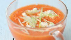 Le gaspacho de tomates et carottes de Valery Drouet