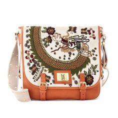 mytheresa.com - Emilio Pucci - EMBROIDERED SATCHEL - Luxury Fashion for Women / Designer clothing, shoes, bags