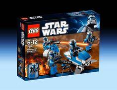 7914 Mandalorian Battle Pack (2011) - 68 pieces, 4 mini-figures.