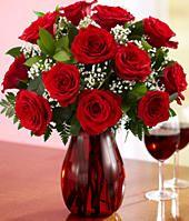 One Dozen Long Stemmed Red Roses #crazypinlove  #helzbergdiamonds