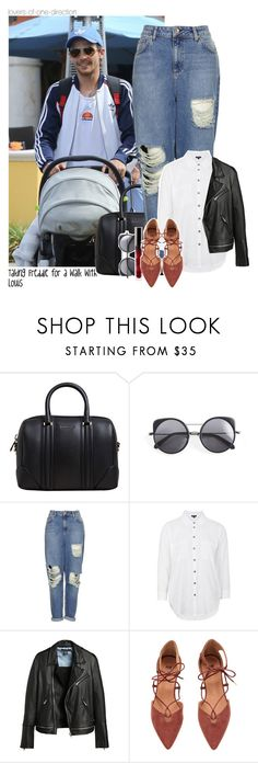 """""""Taking Freddie for a walk w/ Louis"""" by lovers-of-one-direction on Polyvore featuring Givenchy, Wood Wood, Topshop, OneDirection, louistomlinson, onedirectionoutfits, loversofonedirectionoutfits and without1D"""