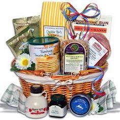 Christmas morning gift basket ideas