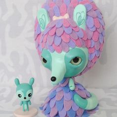 Lolligag custom by Horrible Adorables for the Vive La Lolligag Art Show & Vinyl Doll Release at Woot Bear Gallery in San Francisco on August 29!!!