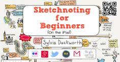Click here for blog post I wrote on sketchnoting. Click here for my sketchnotes on Flickr. bit. ly/ sylsketchnote Sylvia Duckworth @ sylviaduc...