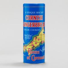 One of my favorite discoveries at WorldMarket.com: Furniss of Cornwall's Cornish Gingerbread in Retro Tin