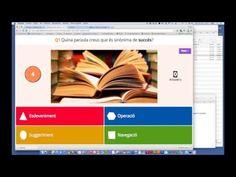 Tutorial: cómo preparar un Kahoot. Kahoot es un sistema de respuestas en el aula basado en el juego – para escuelas, universidades y empresas. Kahoot es un nuevo servicio para la entrega de cuestionarios y encuestas en línea para sus estudiantes.