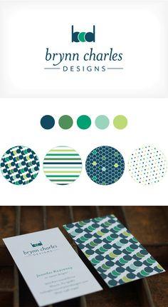 Brynn Charles Designs identity by Curious & Co. Creative
