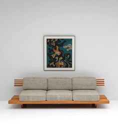 HANDCRAFTED SOFA / BENCH 1960S