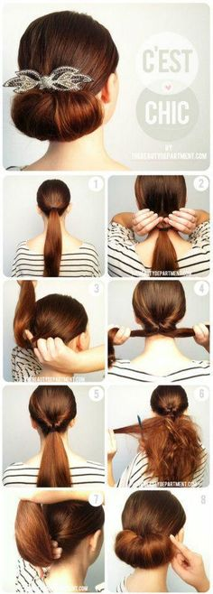 add a poof at the top and it would work for one othe the old ladies or Mrs.H