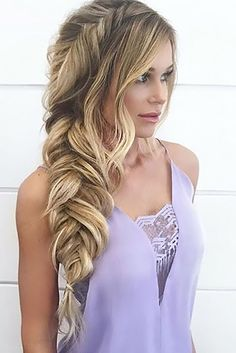 Great 24 Wedding Hairstyles For Every Hair Length See more: www.weddingforwar… The post 24 Wedding Hairstyles For Every Hair Length ❤ See more: www.weddingforwar… appeared first on Hairstyles and Haircuts . Party Hairstyles, Cute Hairstyles, Braided Hairstyles, Latest Hairstyles, Hairstyle Ideas, Princess Hairstyles, Curled Hairstyles For Prom, Fishtail Braid Hairstyles, Evening Hairstyles