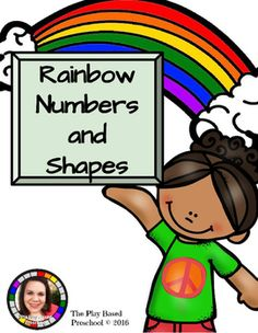 10 hands on learning activities. Perfect for your math centers and small group learning.Who Can Play? Preschool Kindergarten HomeschoolLet's Play!In this resource you are getting: Roll a RainbowShape Match Flip and Find Matching GameColor by Number GridRainbow Race File Folder GameRainbow Write NumbersShape ID Rainbow (great for shape identification assessment)Number Strip PuzzlesShape Match PuzzlesRainbow DominoesBig to Small Rainbow CirclesClick preview to see what you are…