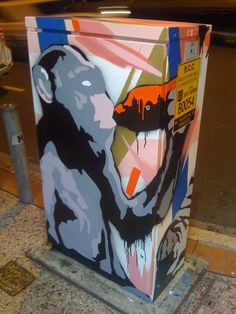 This Brisbane City Council street art initiative is getting artists to paint the traffic signal boxes at intersections. Urban Street Art, Urban Art, Electric Box, Art Activities, Local Artists, Public Art, Box Art, Brisbane, Art Images