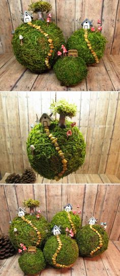 Learn How To Make A Hanging Kokedama Bonsai Garden In Your Home with our inspirational ideas and full video tutorial! You can fill every corner of your home or patio with lovely hanging plants that require little care and absolutely no floor or shelf space!