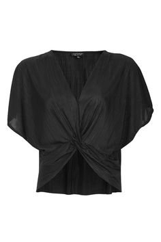 Black batwing top | topshop