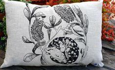 Quoll cushion cover rectangular cushion cover sleeping quoll | Etsy Cute Australian Animals, Kangaroo Paw, Natural Linen, Screen Printing, Cute Animals, Cushions, Throw Pillows, Cover, Prints