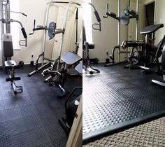 There is no rule that the home gym room is only for athletes. In fact, this gym room at your home can be the sign that you really have a big concern about your health. Home Gym Set, Home Gym Decor, Gym Room At Home, Workout Room Home, Best Home Gym, Workout Rooms, California Home Decor, California Homes, Floor Workouts