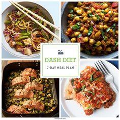 7-Day DASH Diet Menu