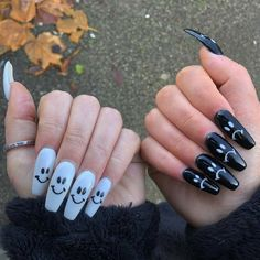 Edgy Nails, Grunge Nails, Dope Nails, Stylish Nails, Swag Nails, Pink Nails, Edgy Nail Art, Crazy Nails, Girls Nails