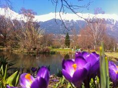 #Rapoldi-Park #Innsbruck Innsbruck, Mountains, Park, Nature, Plants, Travel, Naturaleza, Viajes, Parks