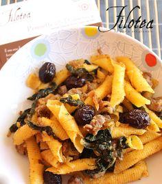 Pennette della Domenica #Filotea, cavoli e salsiccia #pasta #ipasticcidiluna