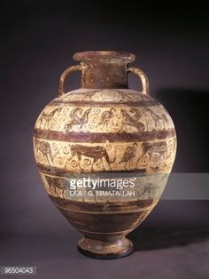 Stock Photo : 6th Century B.C., Museo Archeologico (Archaeological Museum), Etruscan art