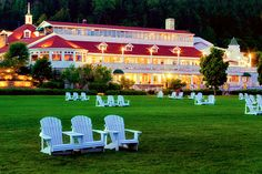 Stay at the Grand Hotel while visiting Mackinac Island either during the Mother's Day Lilac festival or the annual Labor Day bridge walk.  Period costumes for dinner followed by a carriage ride with hubby would be a nice touch!