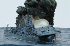 Essex Class, Model Warships, Fast Boats, Naval History, Military Modelling, Navy Military, Military Diorama, Model Building, Battleship