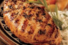 Spanish Chicken Breast Marinated In Citrus And Tarragon - Weber Weber Bbq Recipes, Grilling Recipes, Herb Recipes, Beer Can Chicken, Canned Chicken, Healthy Chicken, Boneless Chicken Breast, Chicken Breasts, Chicken Wings