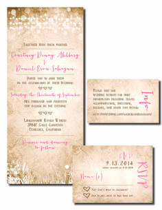 Beautiful Wedding Announcements available to couple's across the country of high quality for an affordable price
