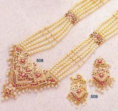 Rani Haar. Another of Hyderabadi jewellery