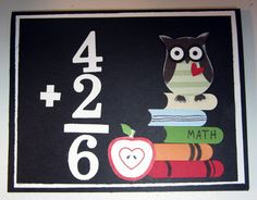 Crafty Maria's Stamping World: Owl Goes Back to School - LNS Challenge 186