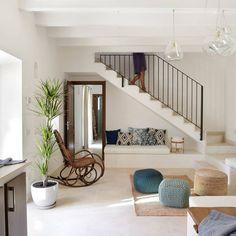11 maneras de aprovechar el hueco de la escalera hueco - Construir y decorar casas ...