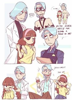 Tagged with rick and morty, genderbend; I'll just leave this here Rick And Morty Comic, Rick Und Morty, Cartoon Movies, Cartoon Art, Arte Do Kawaii, Rule 63, Gender Bender, Animation, Fan Art