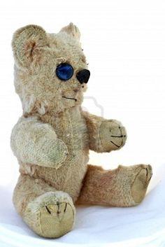 button eyed teddy