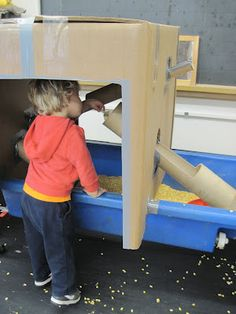 SAND AND WATER TABLES- This guy's sensory table ideas are incredible!