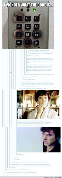 And this is why the sherlock fandom could either rule the world or end it - Funny Picture