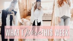 WHAT I WORE THIS WEEK | Outfit Diary