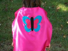 Butterfly CAPES 4 Party Favors SingleSided by CupcakeCutieKids, $12.99