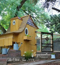 If I ever have chickens, this will be their coup
