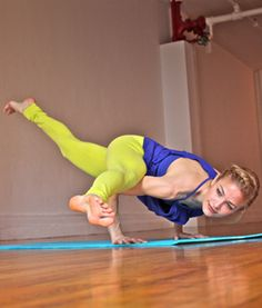 Step-by-Step Yoga Pose Breakdown: Split-leg Arm Balance