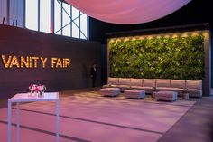 Vanity Fair Oscar Party Indoor Cocktail area - BWArchitects - Designed by the New York City based Architecture firm BWArchitects. Hill City, Vanity Fair Oscar Party, Oscars, Architecture, Deck, Cocktail, Indoor, Design, Arquitetura