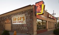 Lo-Lo's Chicken and Waffles in Phoenix has the KK's Combo - voted #5 soul food on FN's Top Five.