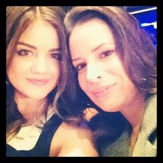 Lucy-Hale-Holly-Marie-Combs-smiled-camera.jpeg (612×612)